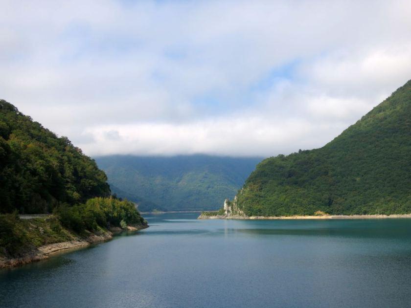Stausee im Norden Montenegros