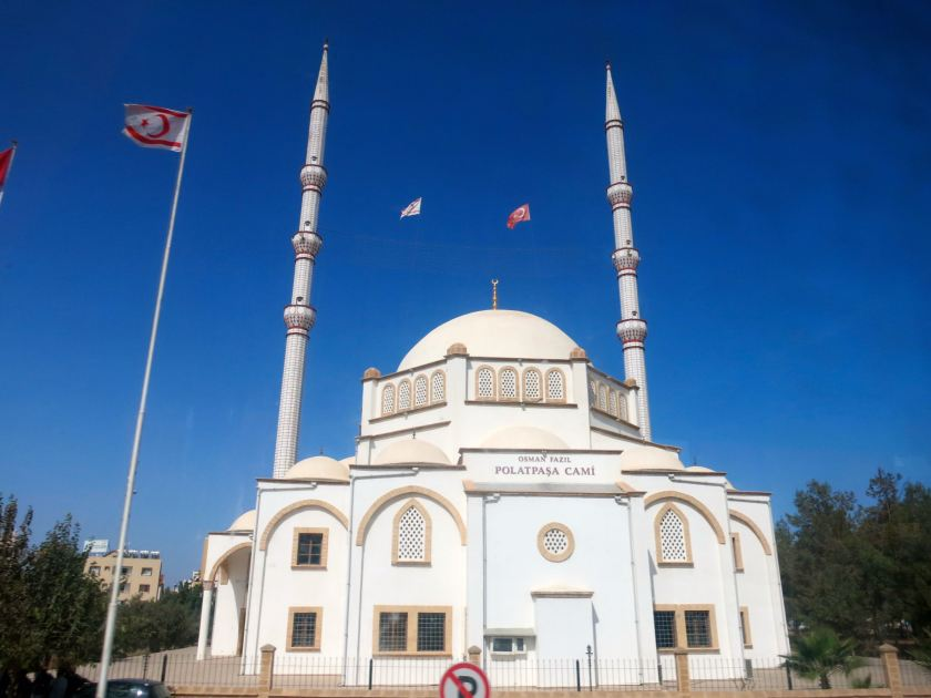 A Turkish-funded mosque in Northern Cyprus. © Gerrit Kurtz.