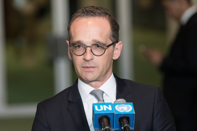764925 German FM Maas after election to UNSC 2018.jpg