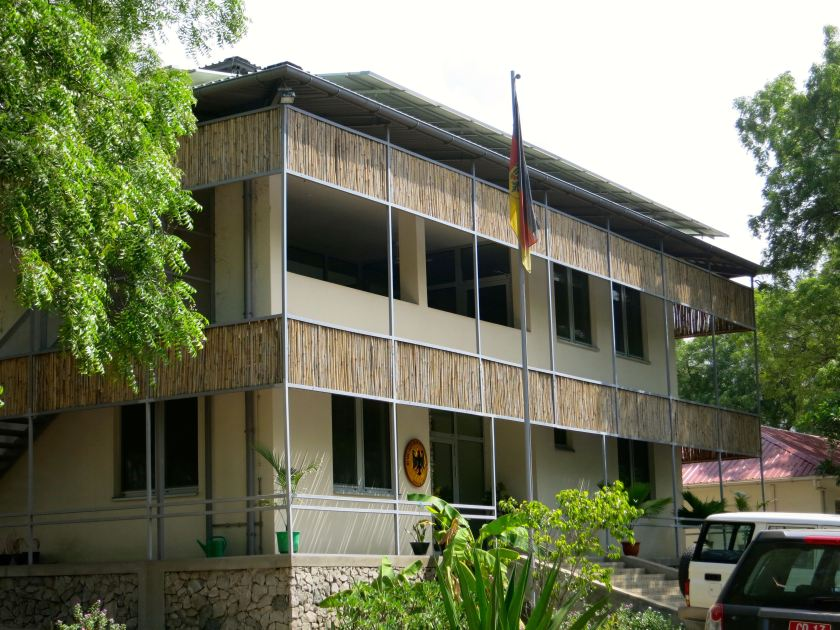 German Embassy in Juba, South Sudan.
